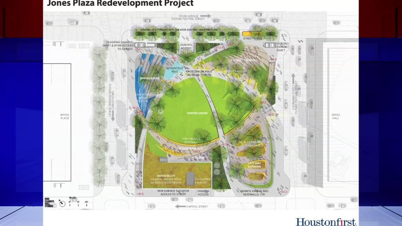 City announces redevelopment plans for Jones Plaza