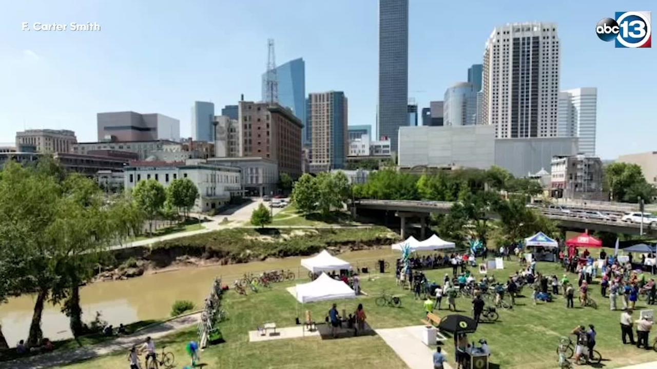 Buffalo Bayou connector now complete