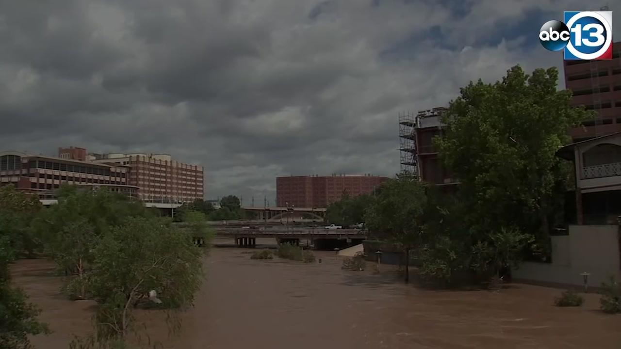 Buffalo Bayou Park gets cleaned up