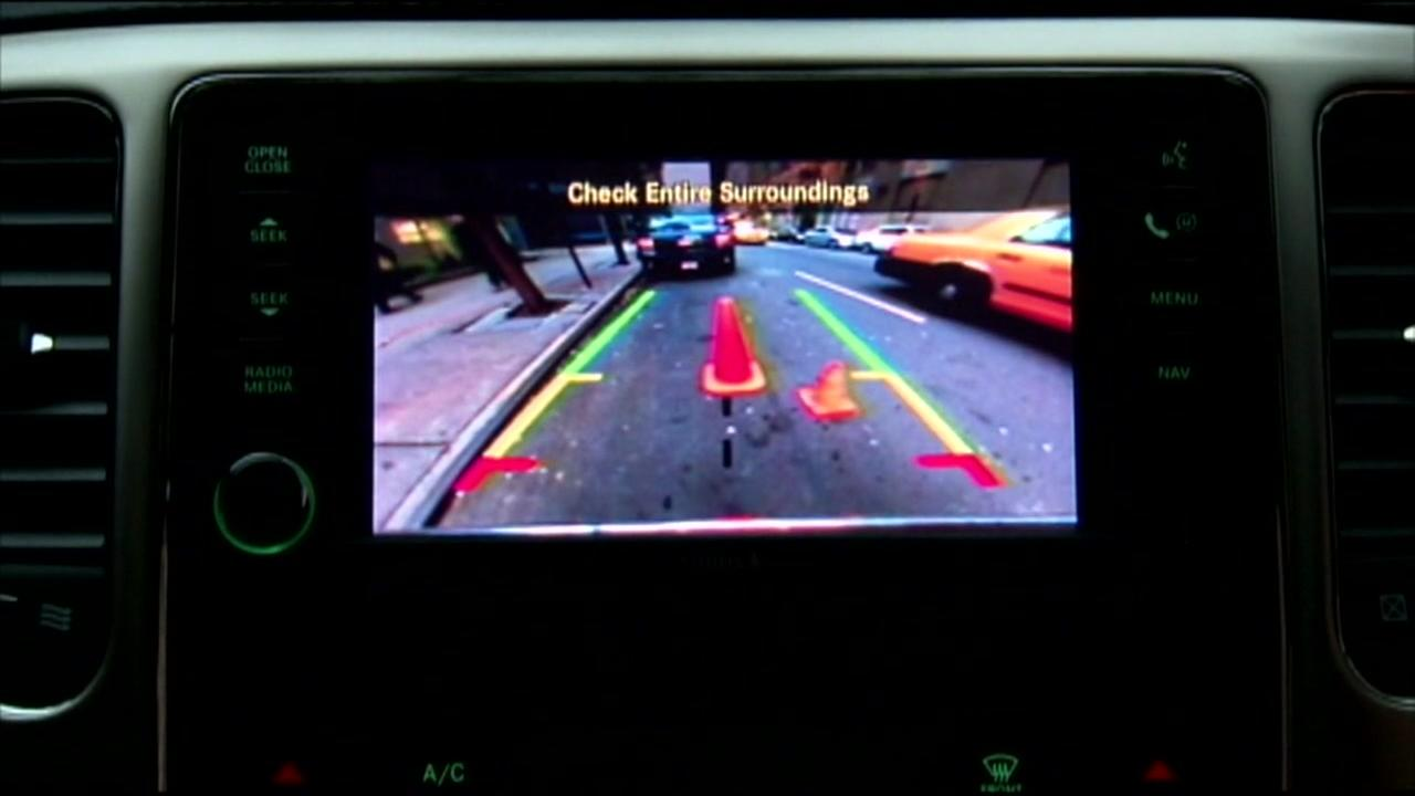 New cars required to have backup cameras