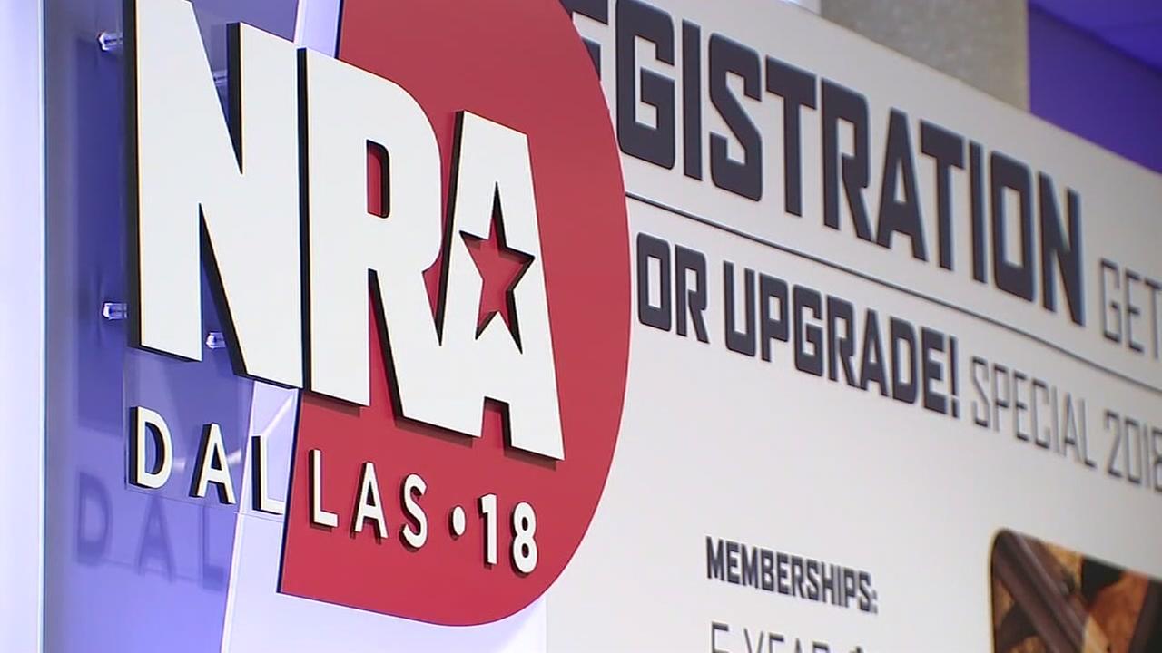 NRA convention in Dallas