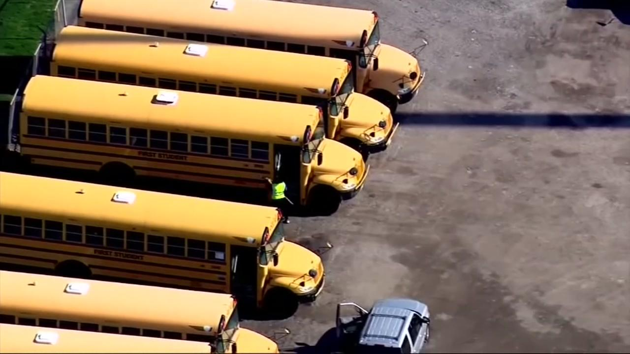 School bus driver slams on brakes and yells threats at students