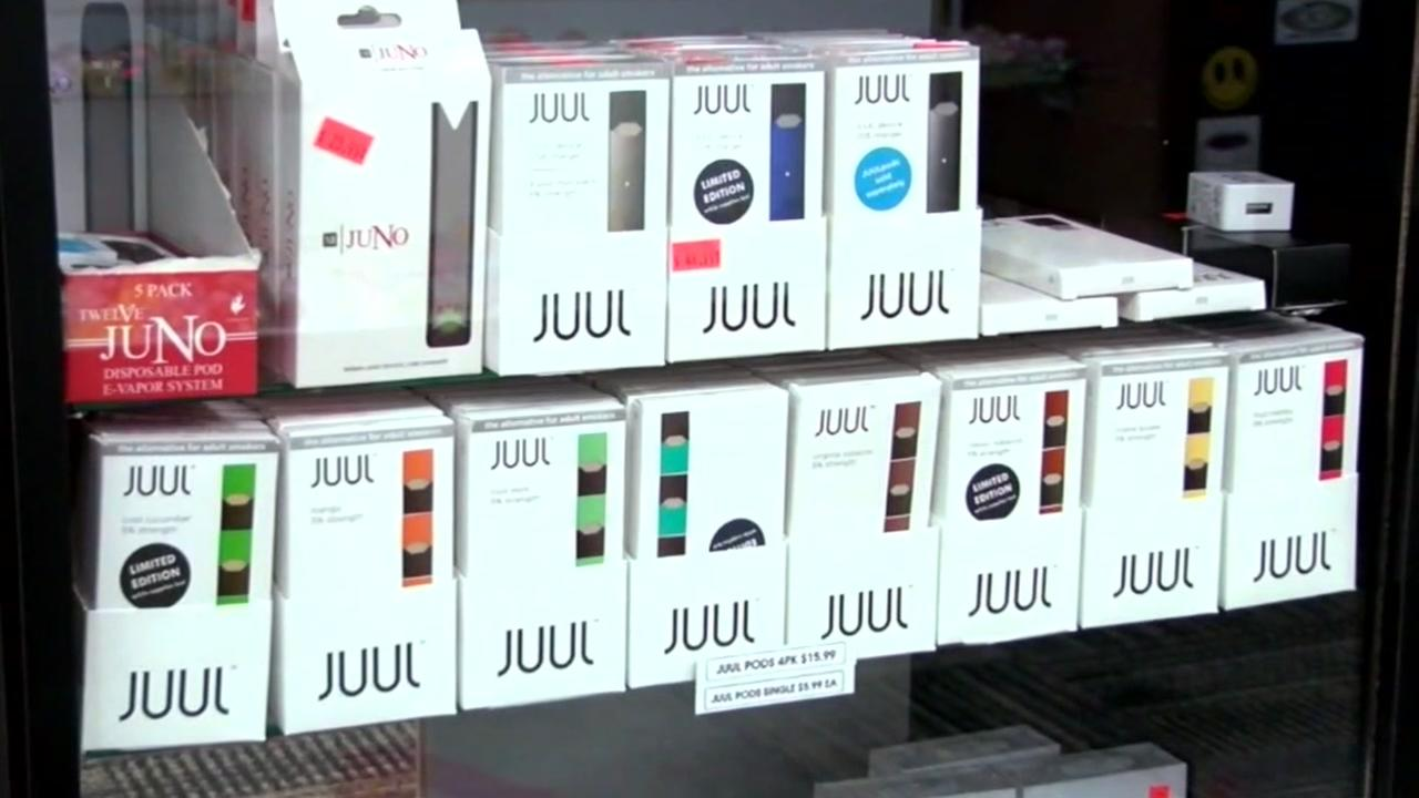 Juul reportedly contains as much nicotine as pack of cigarettes