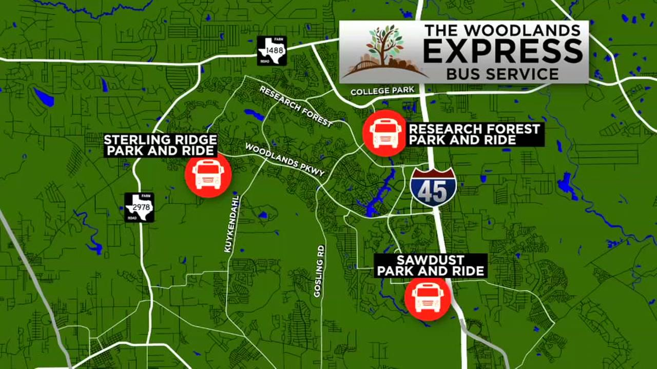 Revere commutes to The Woodlands