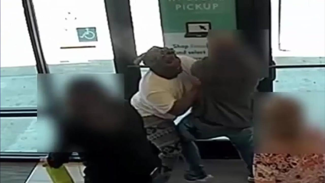 Alleged shoplifter seen attacking workers in W. Harris Co.