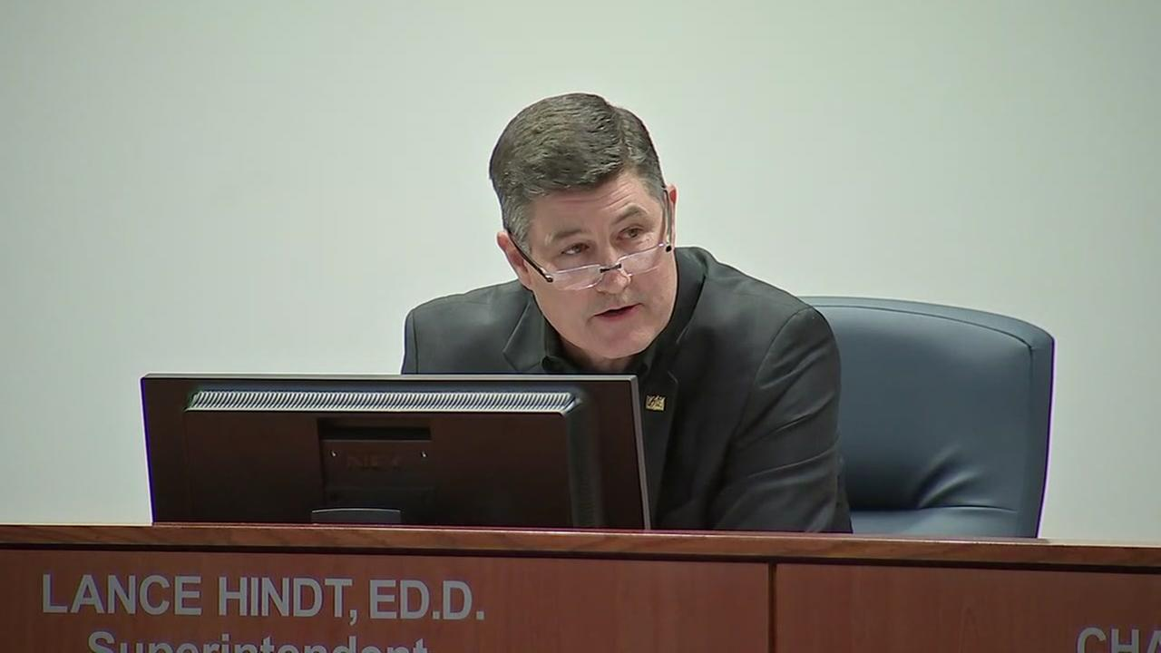 Katy ISD superintendent resignation speech
