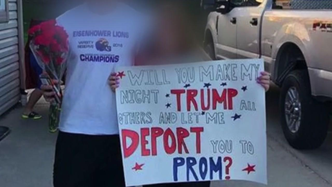 It is a promposal that is the talk of one Wisconsin community