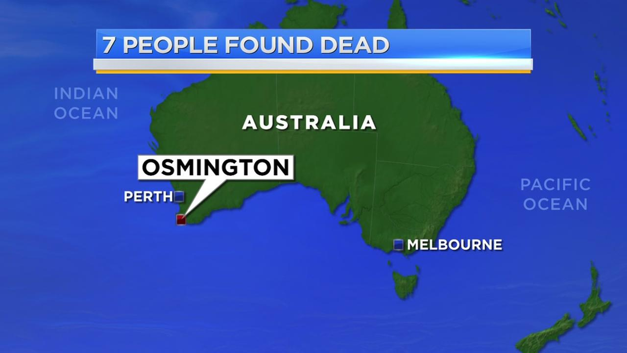 7 found dead with gunshot wounds on west Australia property
