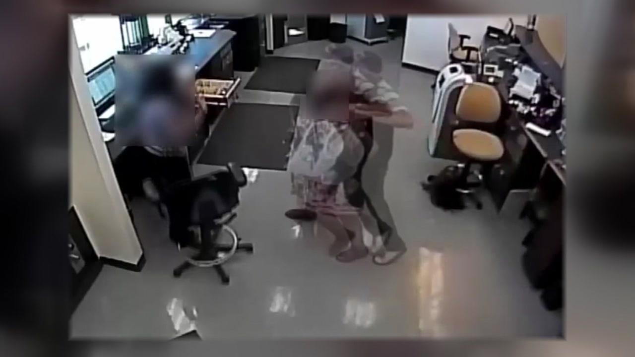 Man caught on camera robbing bank