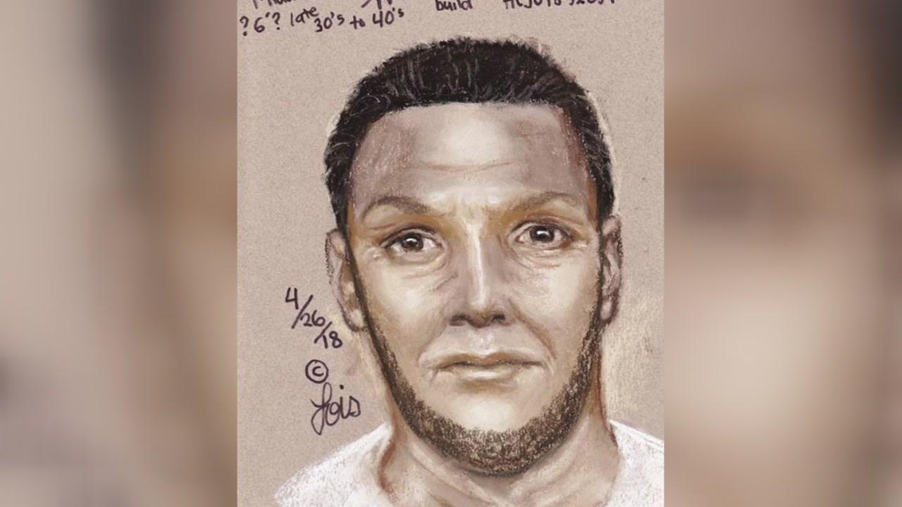 Sketch of man suspected of sexual assault