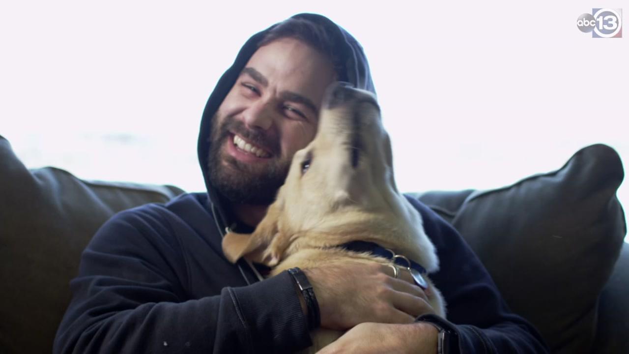 Man says dog shot him in the leg