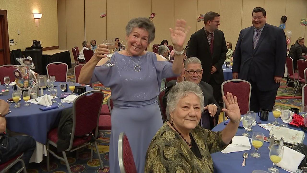 Seniors take a trip down memory lane at prom celebration