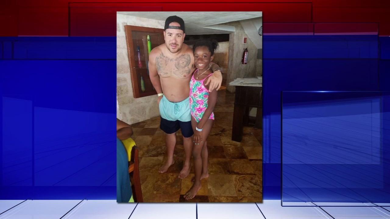 Houston girl thanks firefighter who saved her