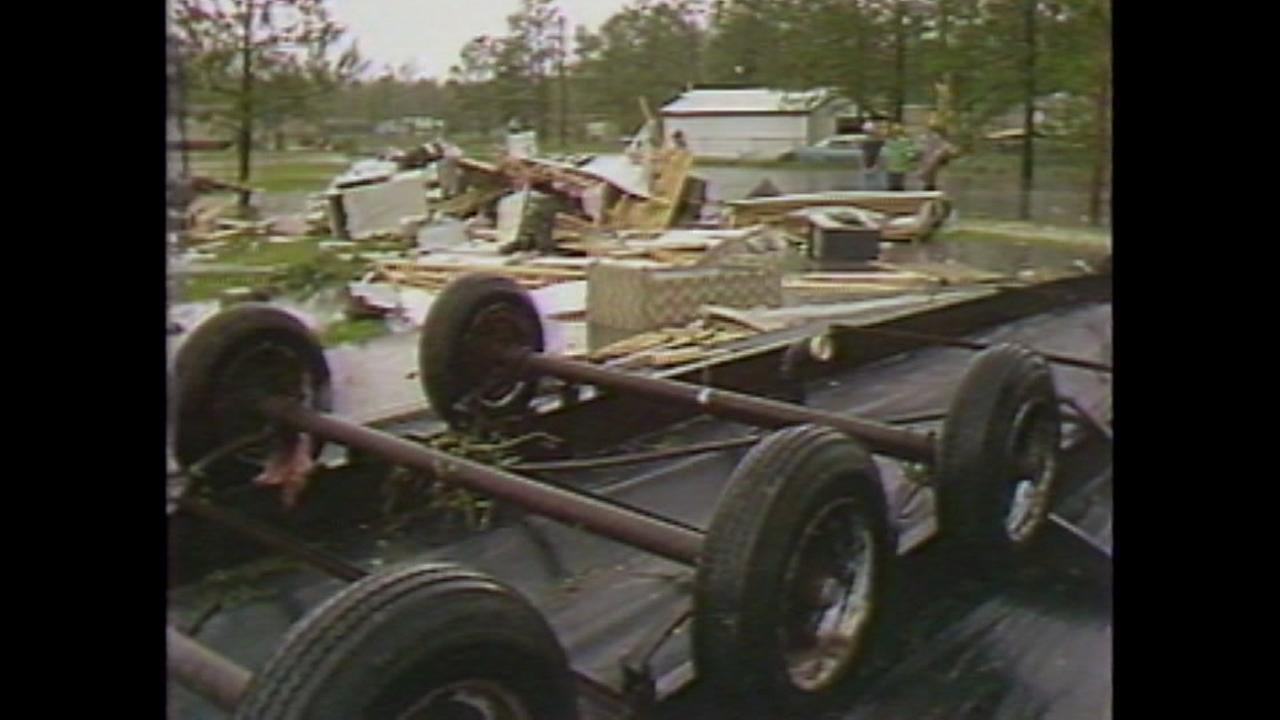 Watch the newscasts from May 20 and 21, 1983 when twisters hit Houston, killing 11