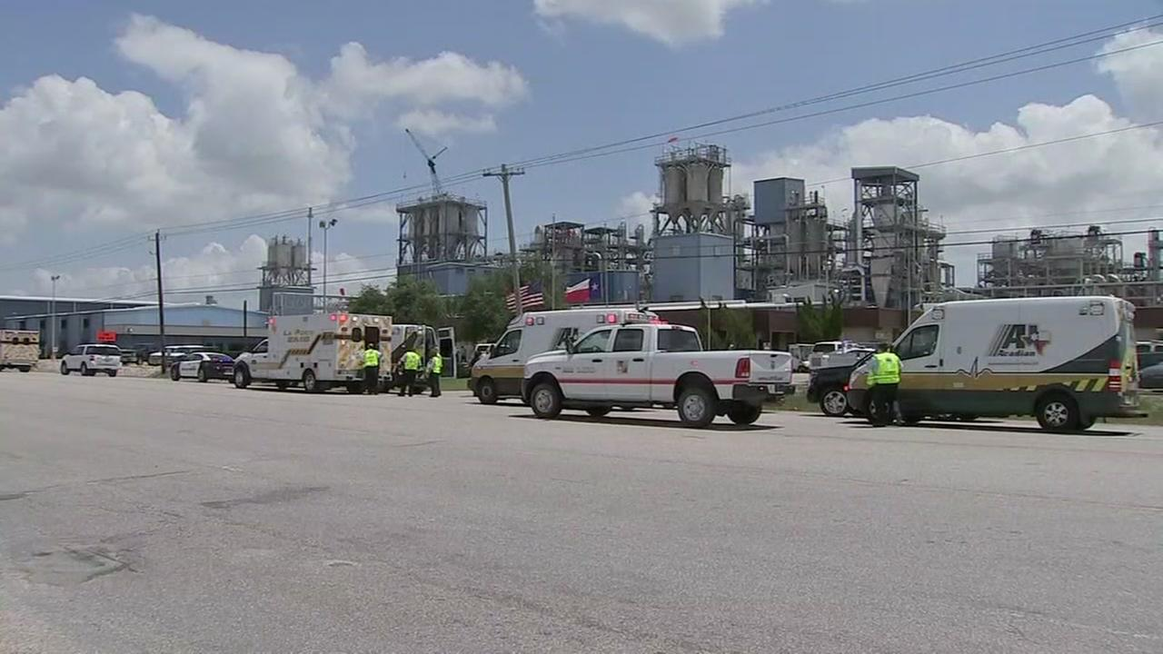 22 injured after flash fire at plant near Pasadena
