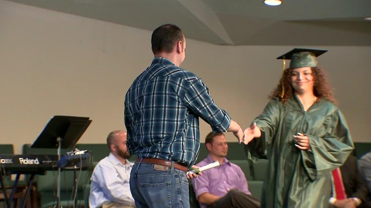 Church hosts graduation for Santa Fe High School seniors