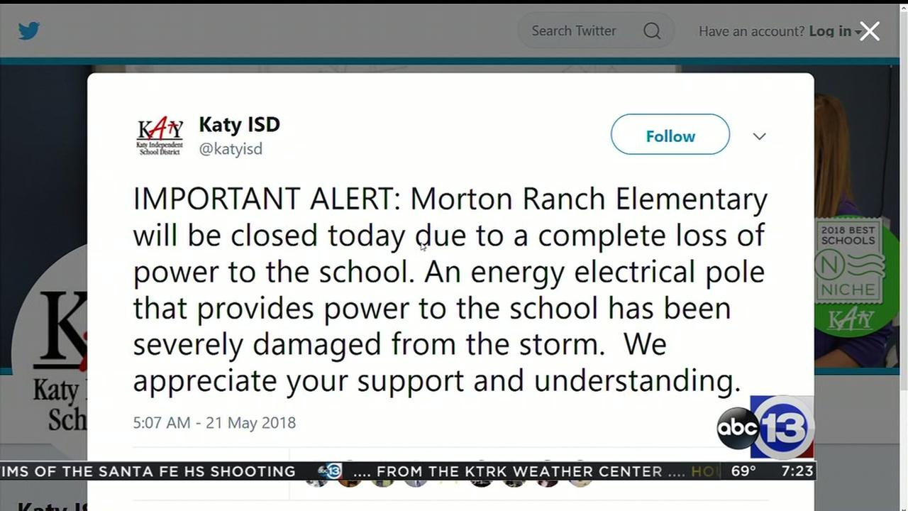 Morton Ranch Elementary closed