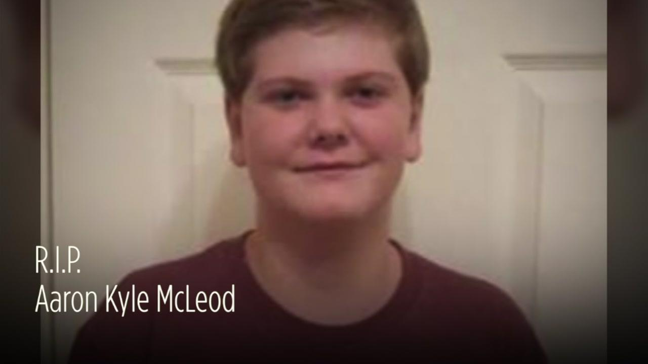 Aaron McLeod - Student killed in Santa Fe High School