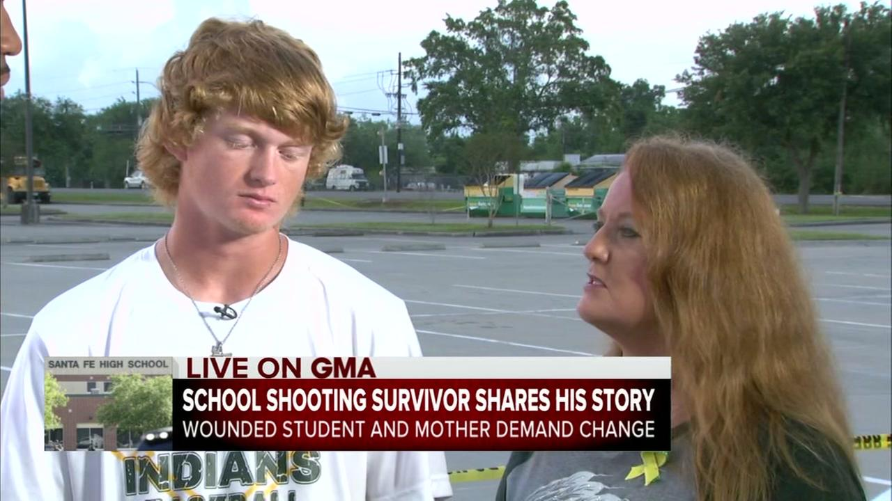 Shooting victims mother has strong words on parenting