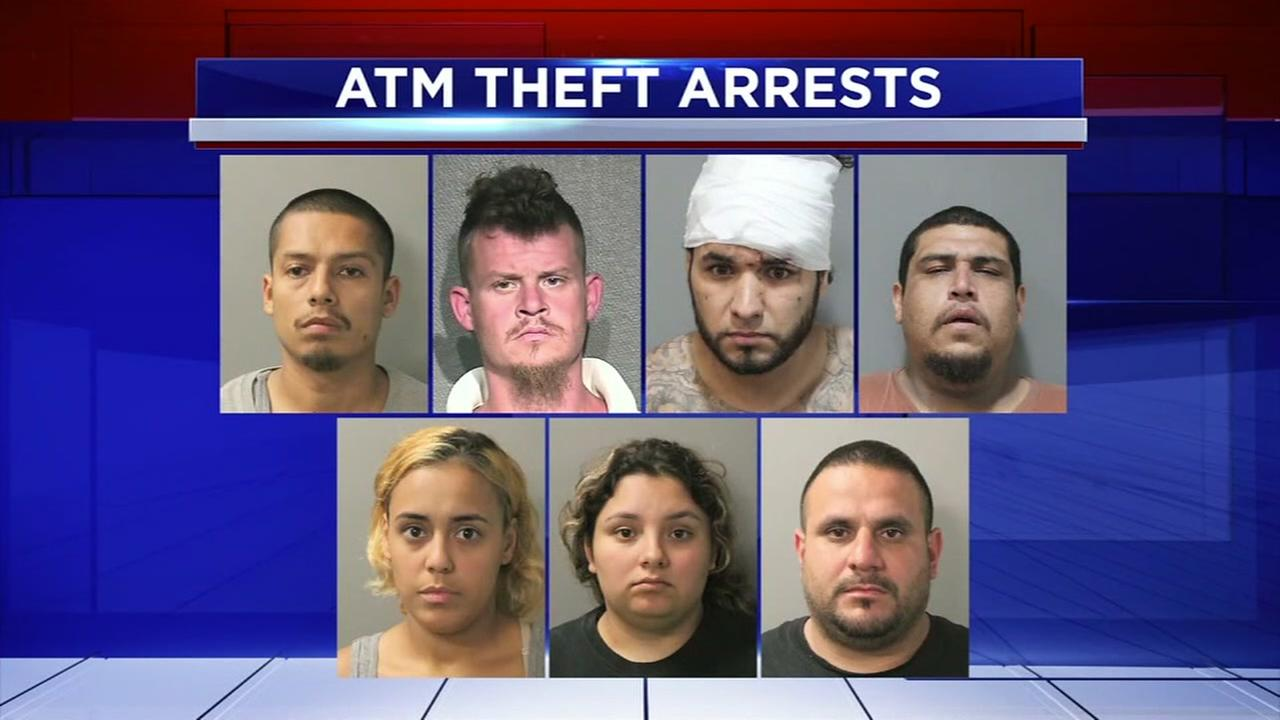 Multiple arrests in possible crime ring targeting ATMs