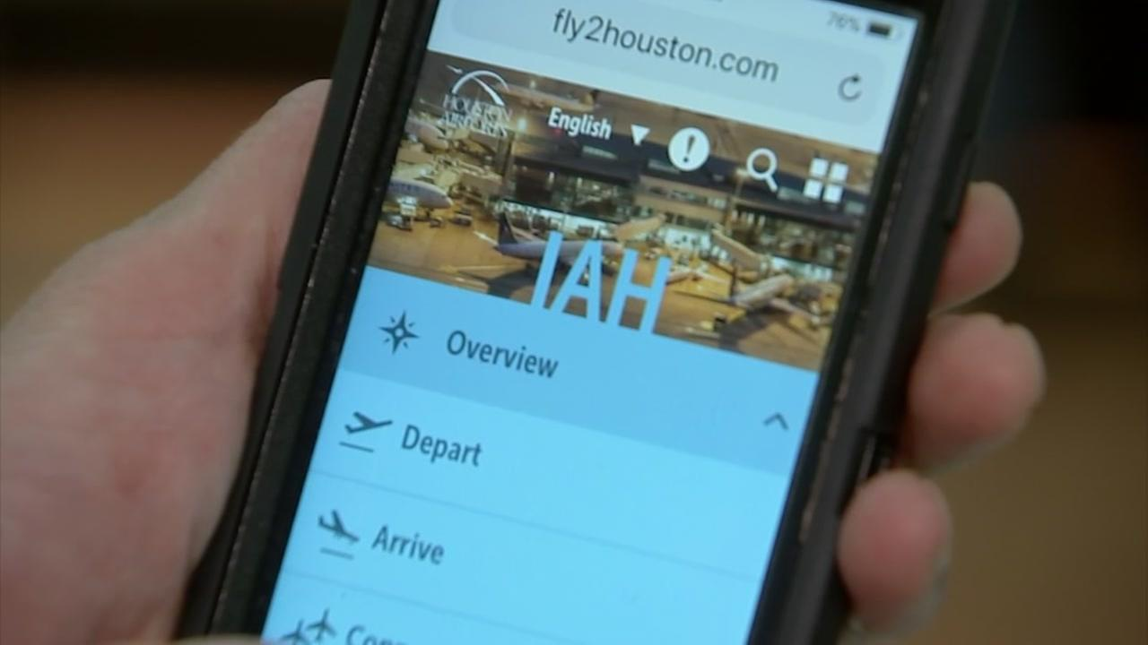 Navigating Houston airports new technology