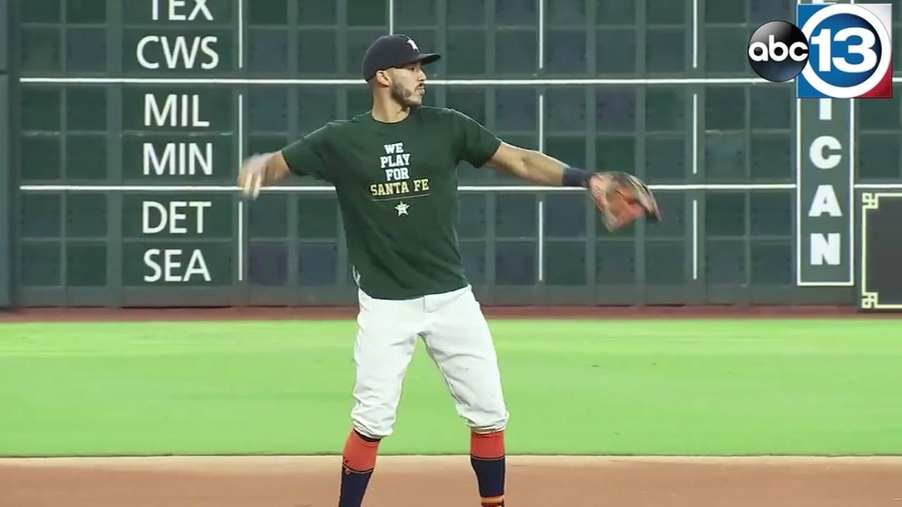 Astros play for Santa Fe