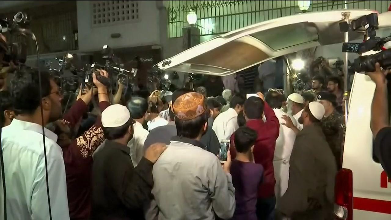 Body of Sabika Sheikh arrives to Pakistan