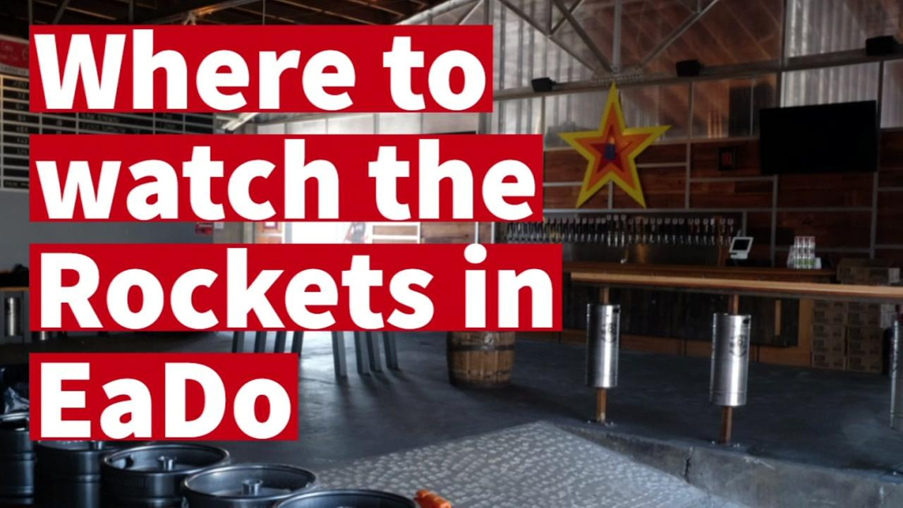 Heres some cool places to watch the Rockets in EaDo