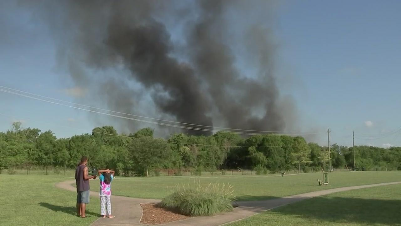 Neighbors describe 4-alarm fire