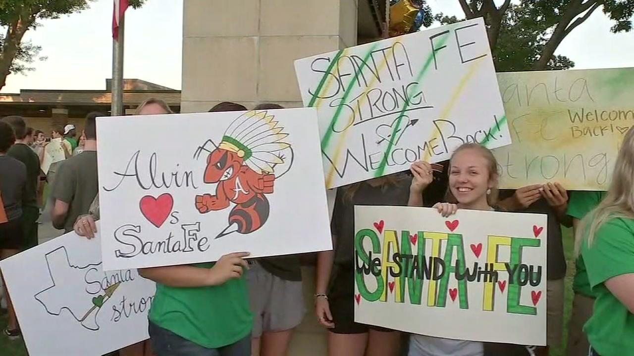 Alvin stands for Santa Fe High School