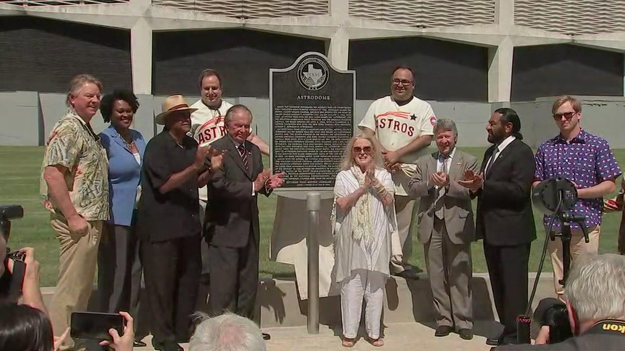 Astrodome becomes official Texas Historical Landmark