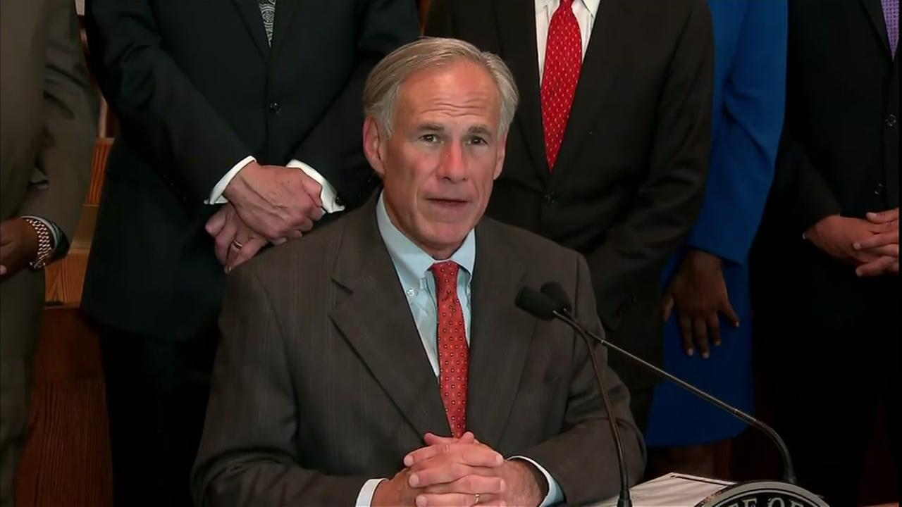 Gov. Greg Abbott on safety plan