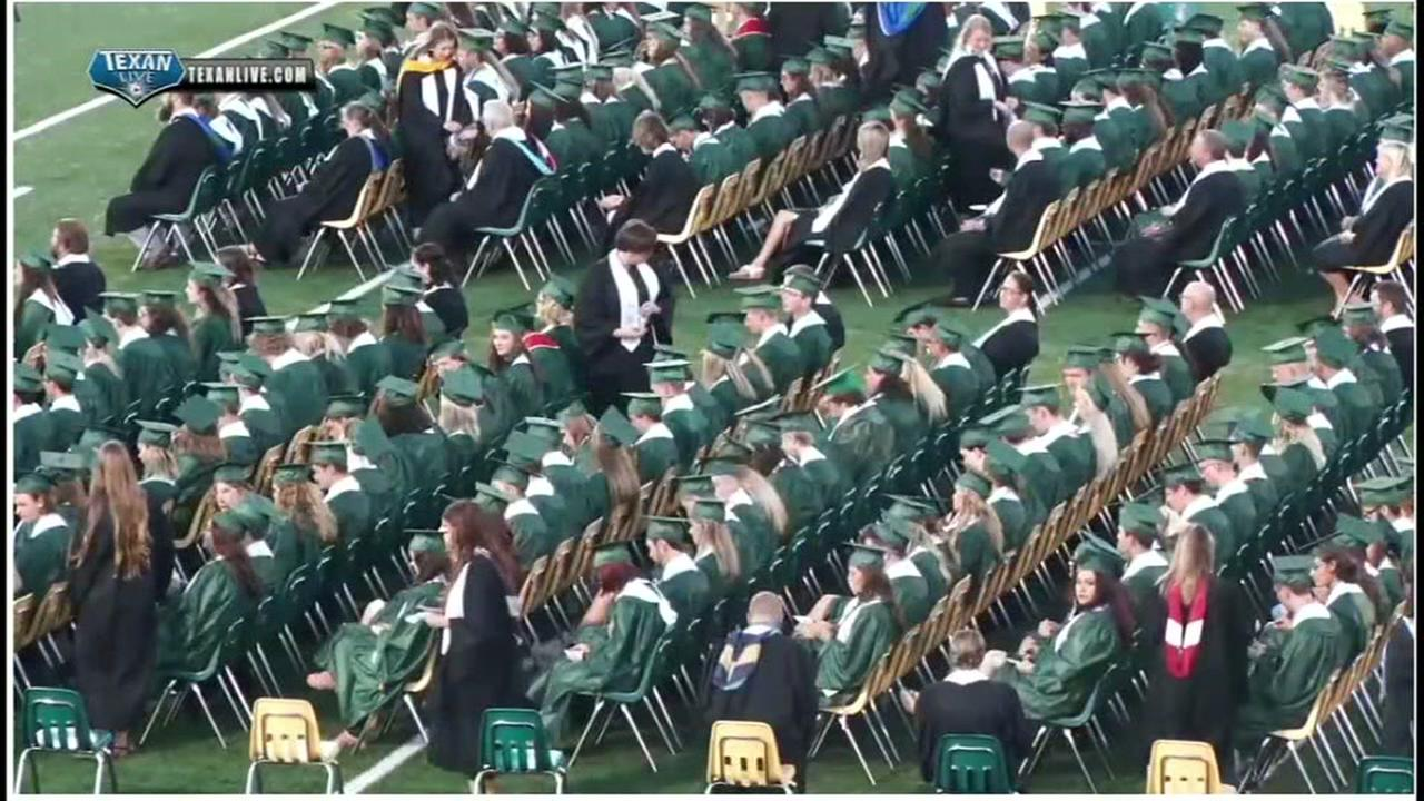 Graduation held at Santa Fe High School