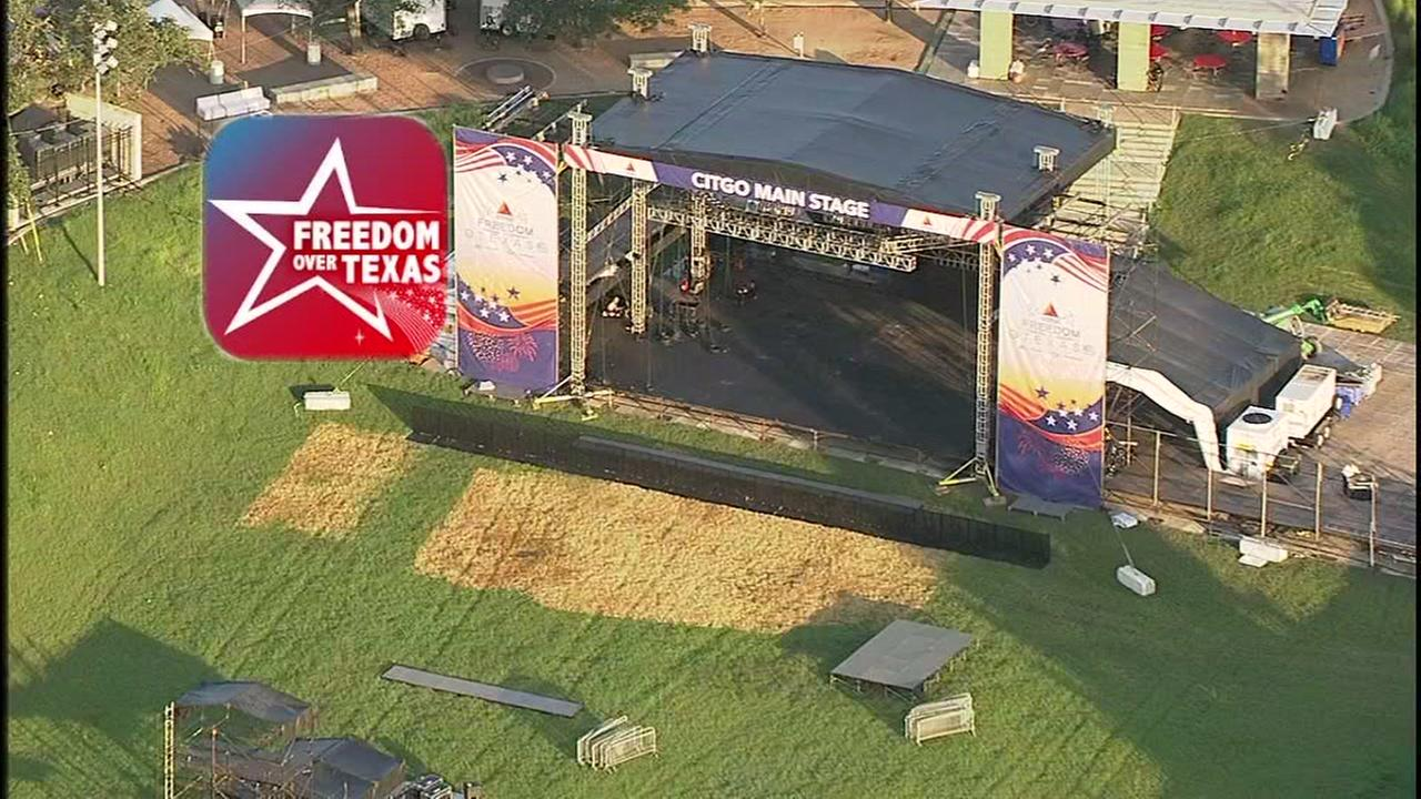 Freedom Over Texas app will help you navigate the huge celebration