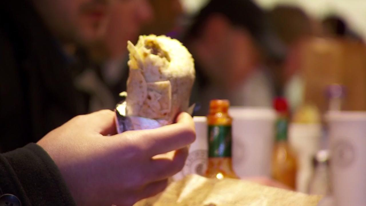 Nurses get free burrito with purchase