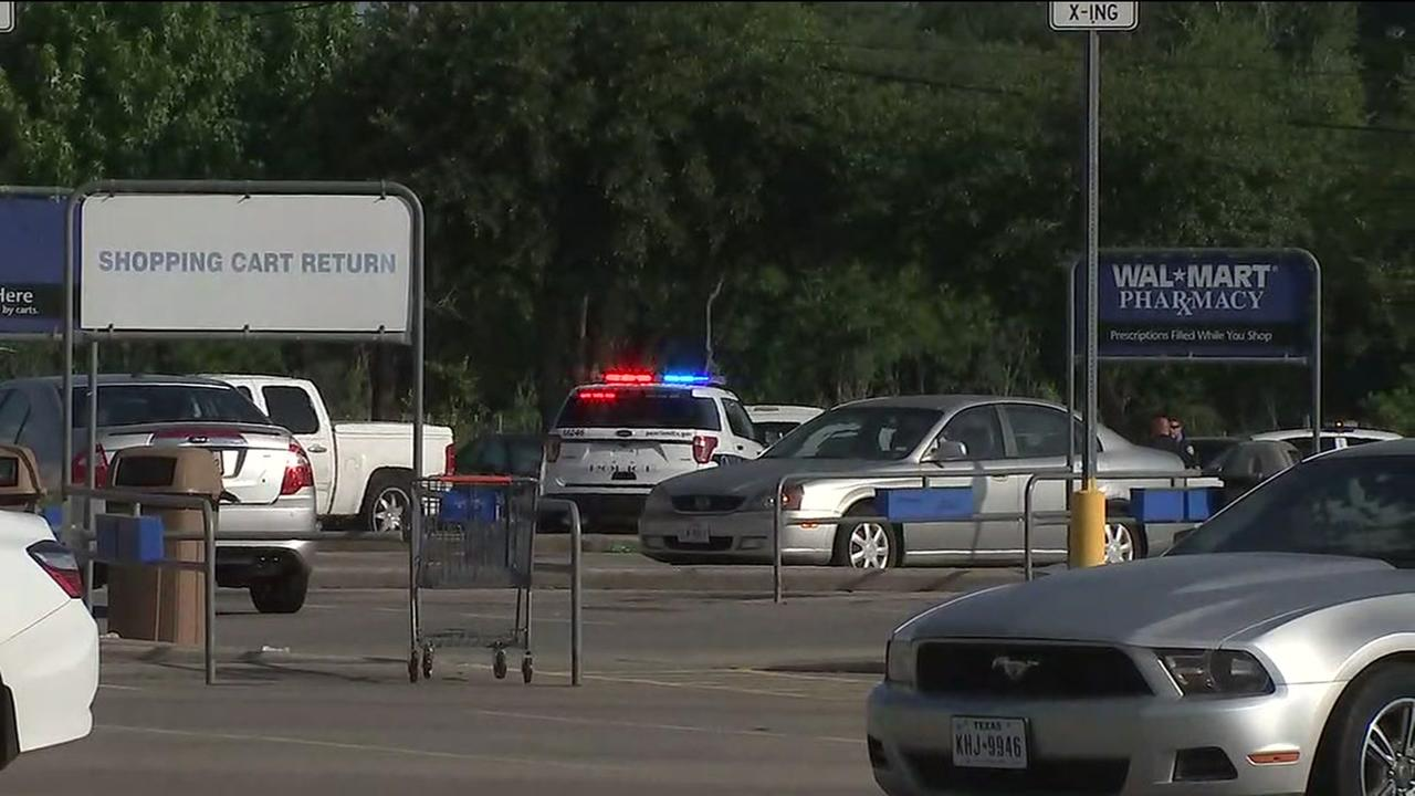 At least 1 shot outside Walmart store in Pearland