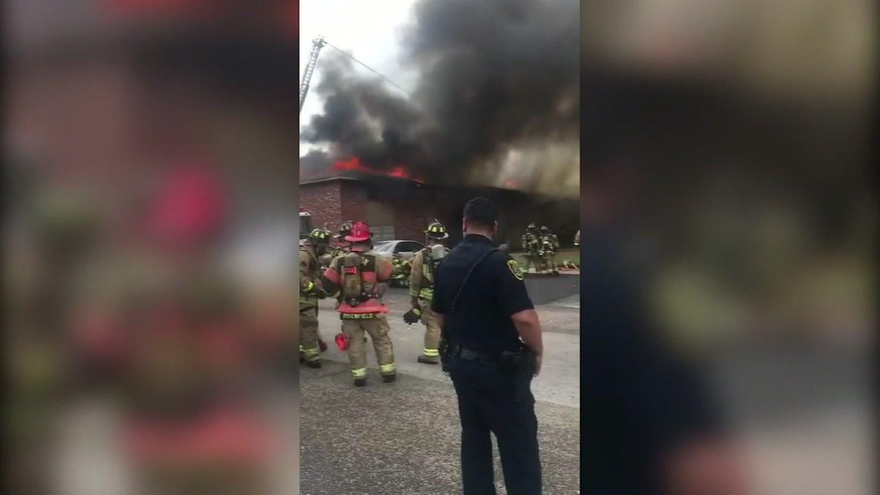 Red Cross assisting residents displaced by fire in north Houston