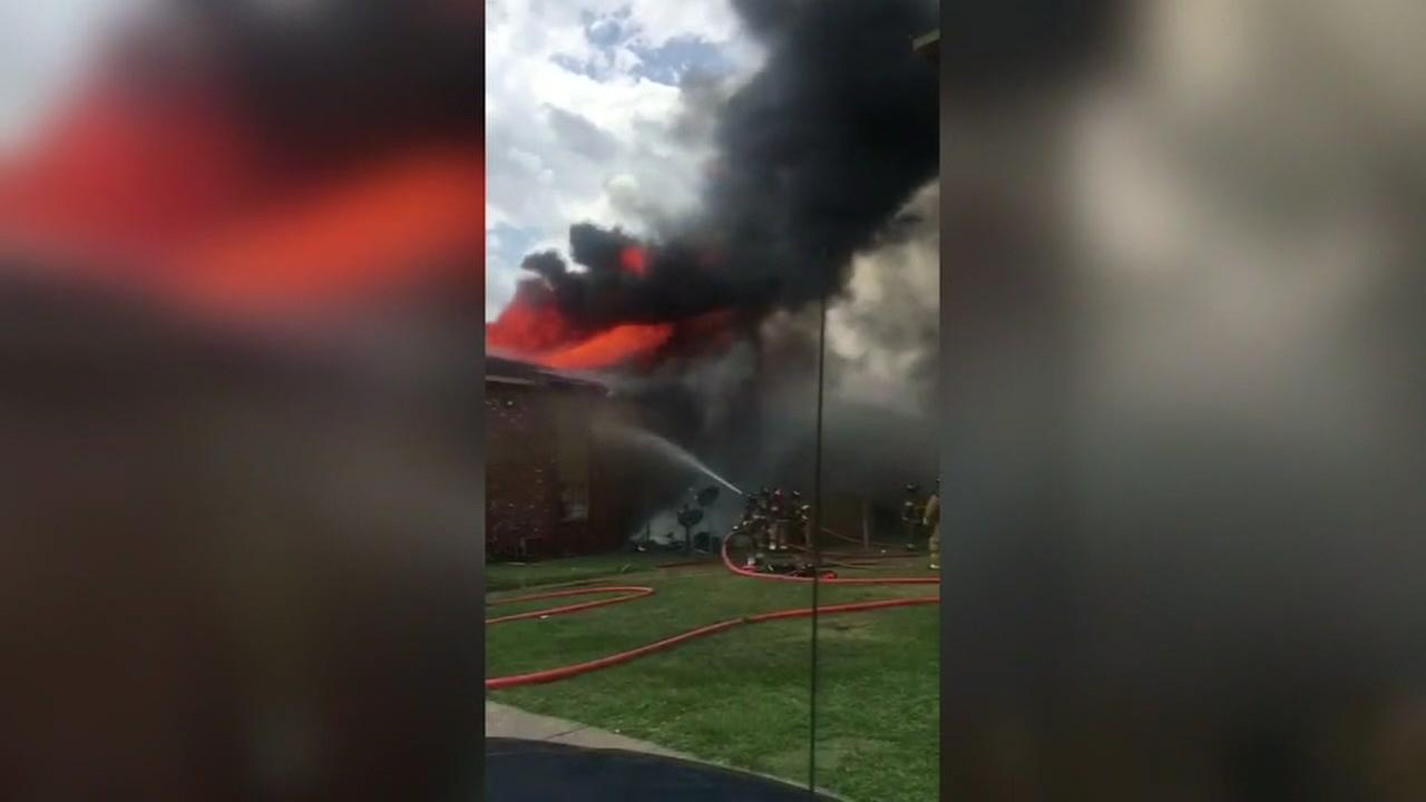 Donations accepted for families displaced in fire