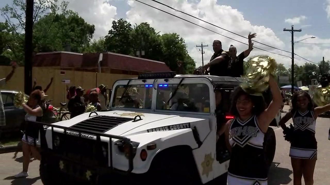 Juneteenth parade in Acres Homes