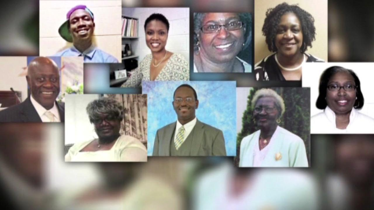 Charleston church shooting anniversary