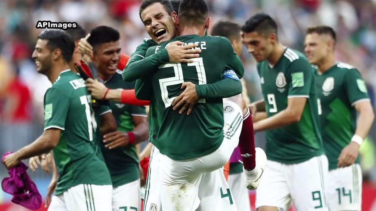 Mexico defeats Germany