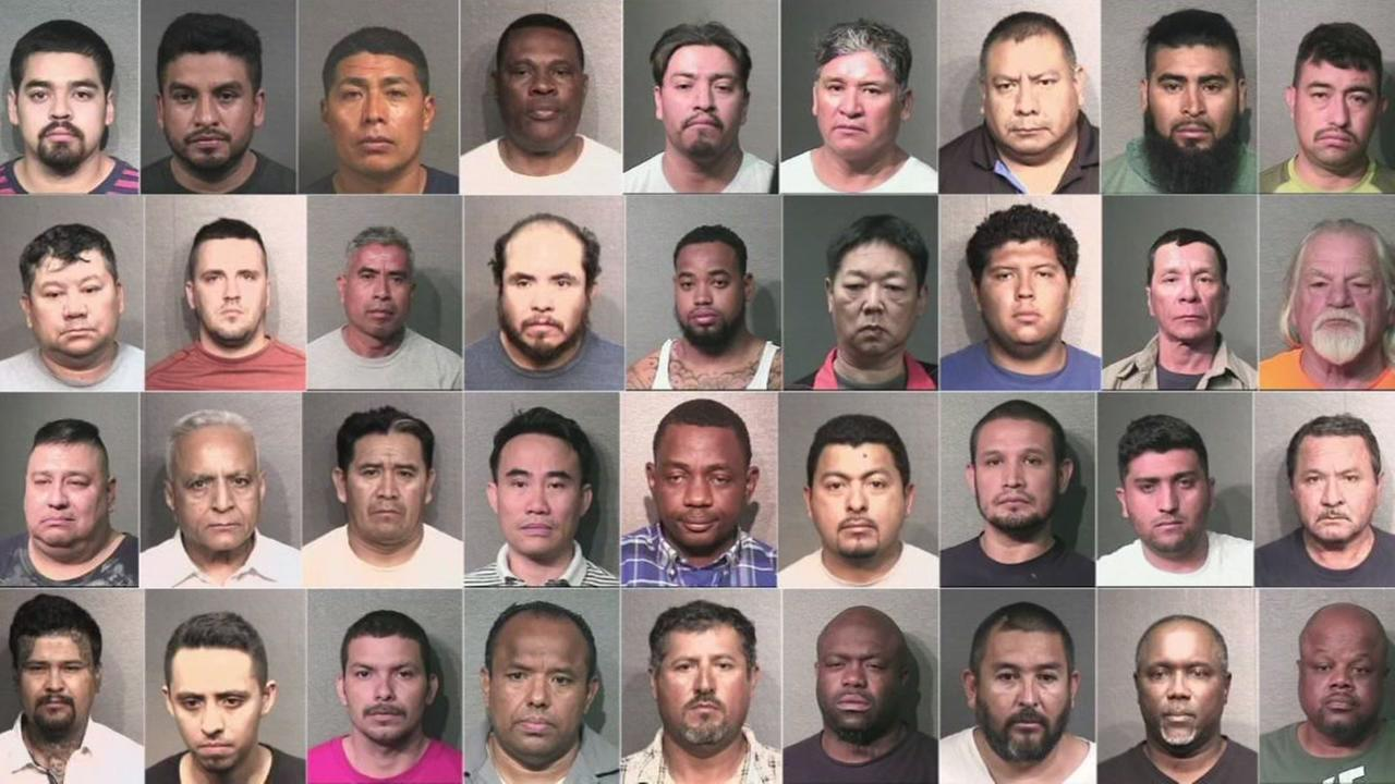 HPD arrests 39 in prostitution busts