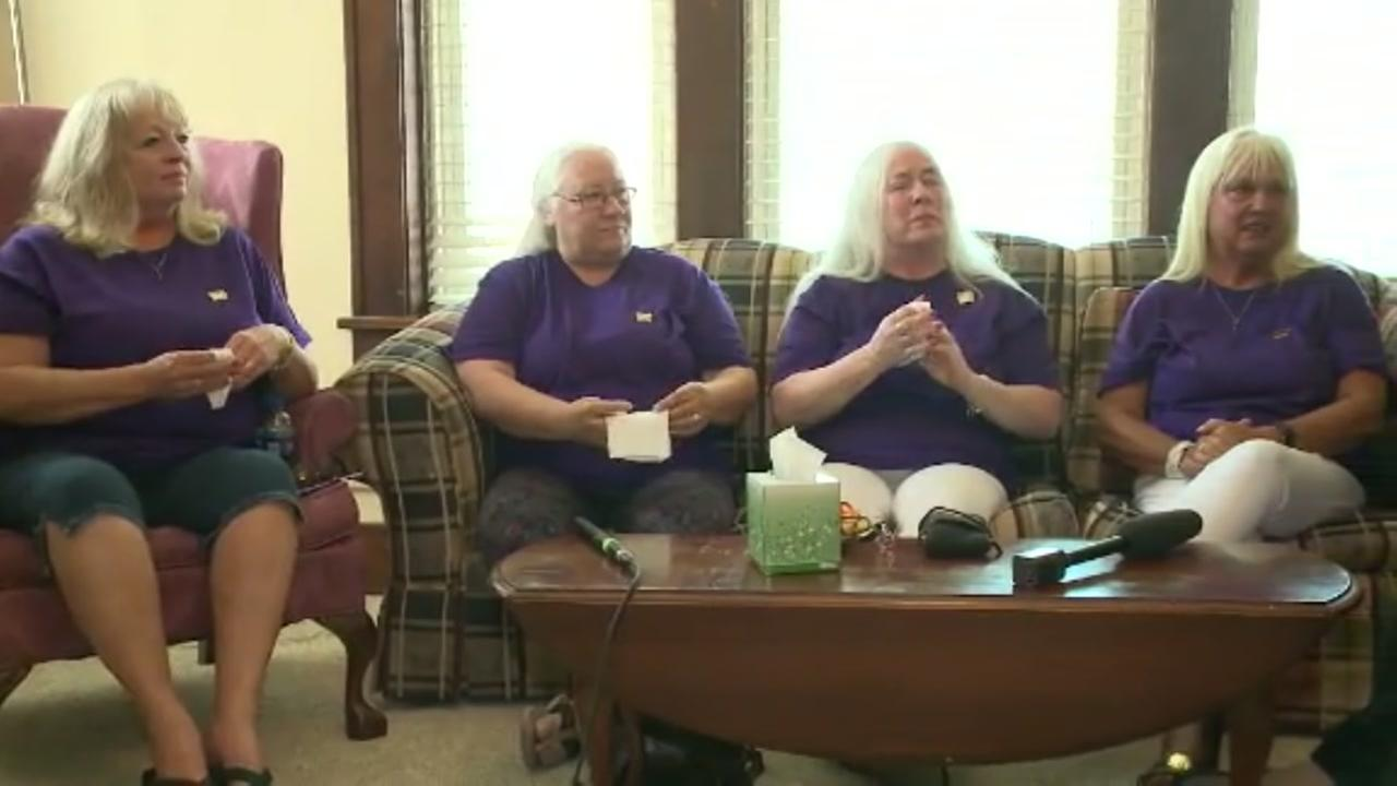 5 sisters meet for first in 50 years