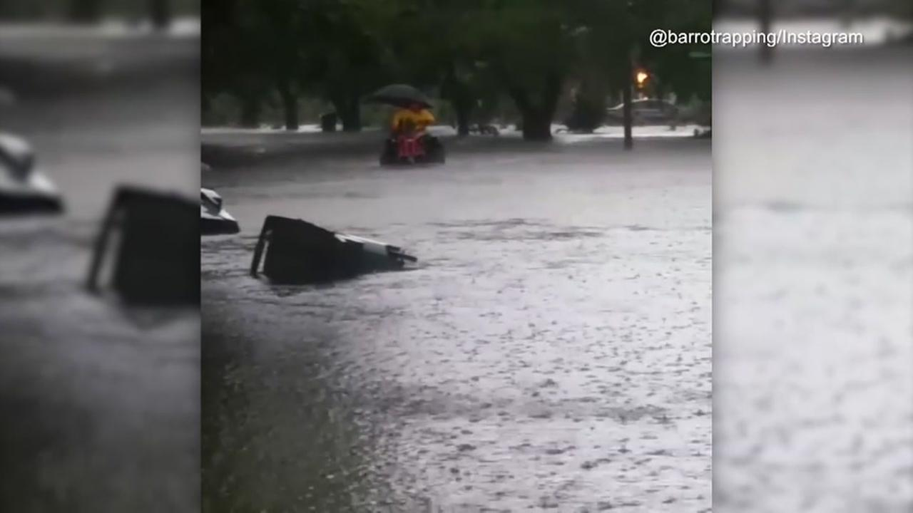 Flooding in Corpus Christi, Port Arthur and Beaumont