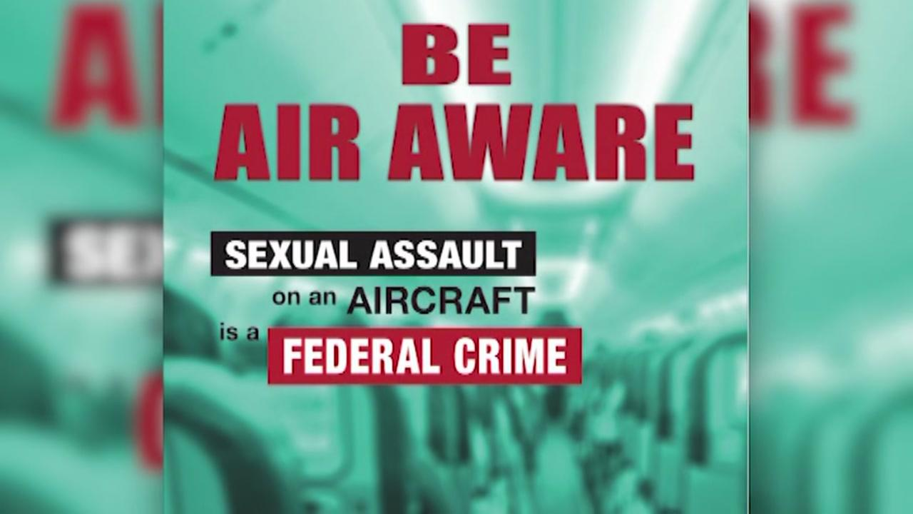 Sexual assaults on planes