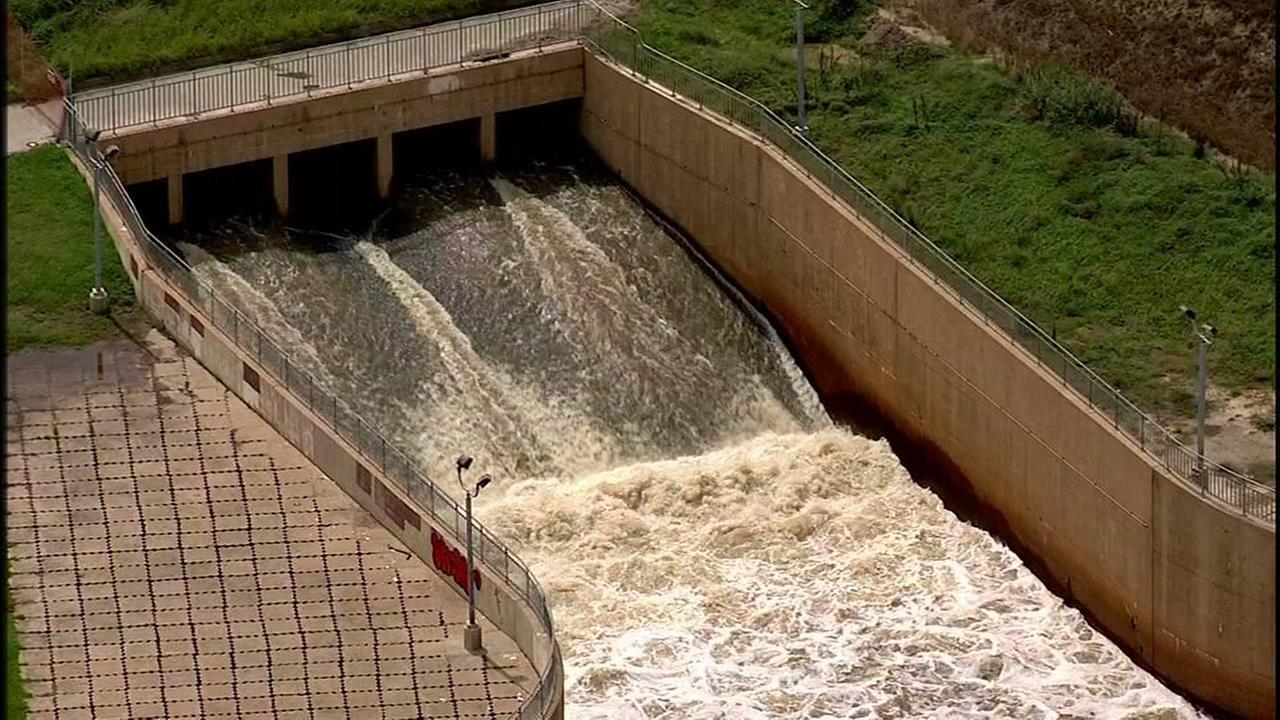 The Addicks and Barker reservoirs are releasing water