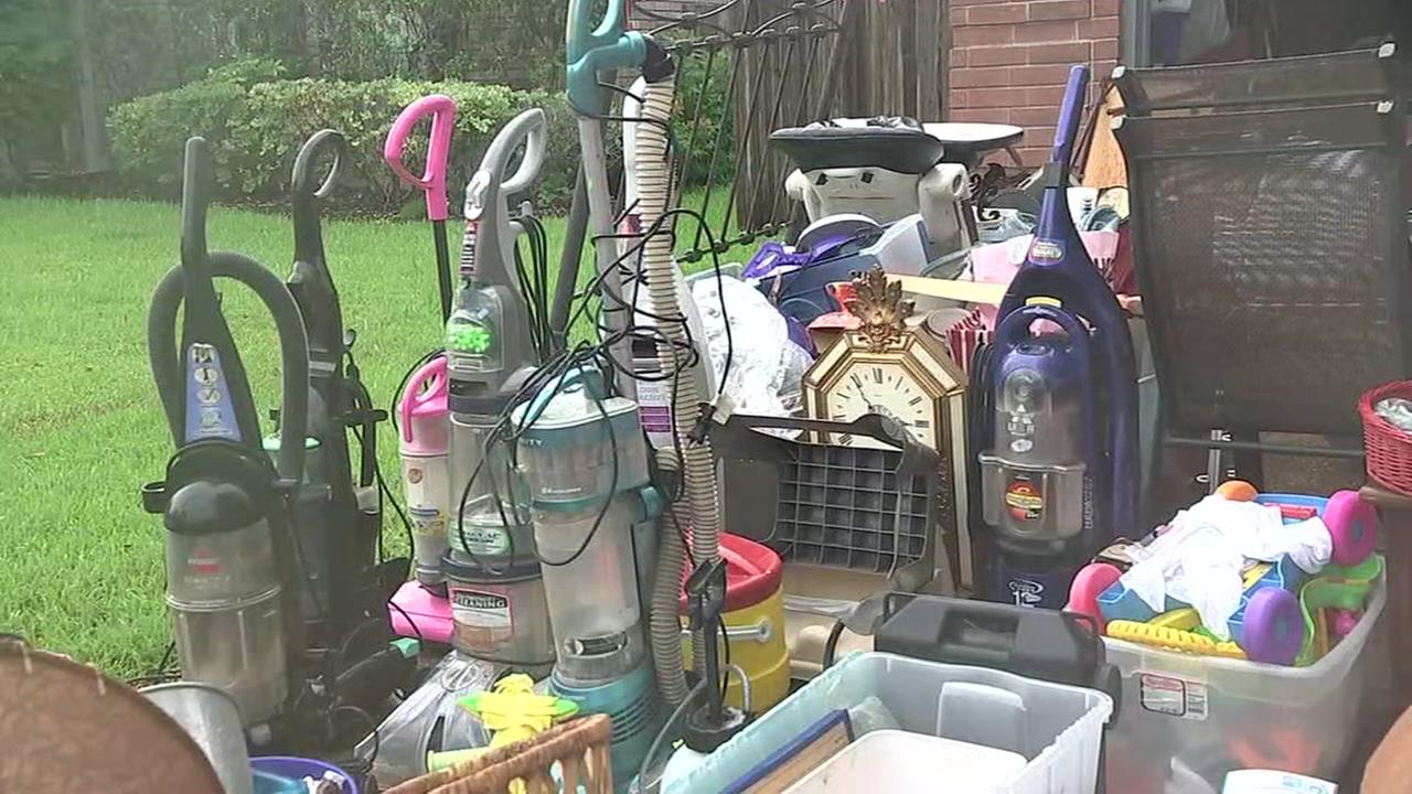 Pearland hoarder sale