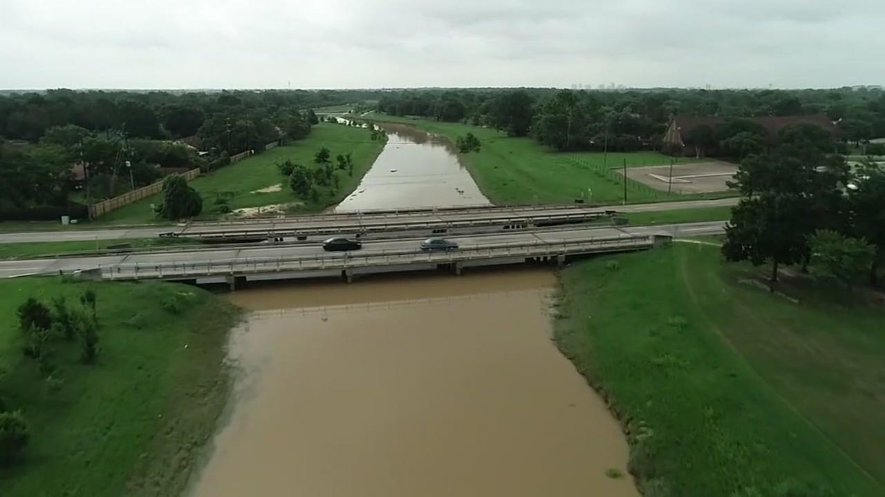 Mayde Creek improvements