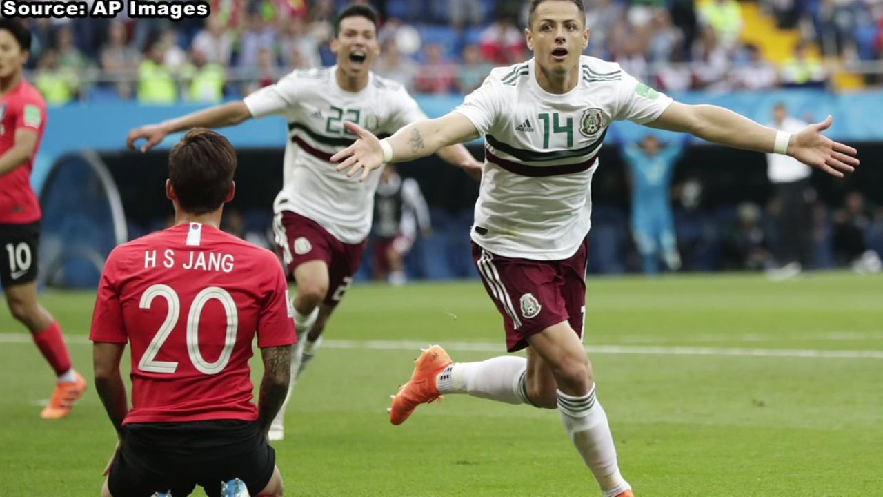 Mexico defeats South Korea