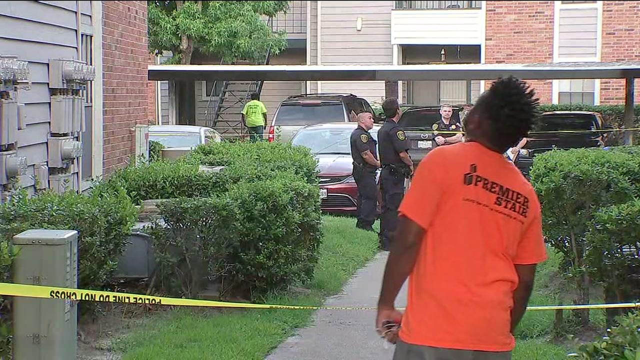 2 dead in shooting outside apartment